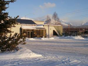 Outside of Family Medical Dental Center in Anchorage, Alaska